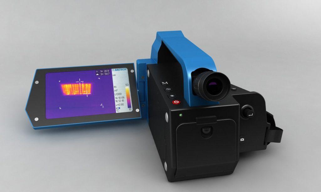 Тепловизор со встроенной камерой BALTECH TR-0170 (384x288)