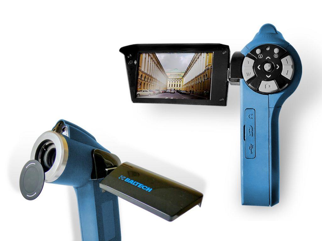 Тепловизор BALTECH TR-0150 (384х288) со встроенной цифровой камерой