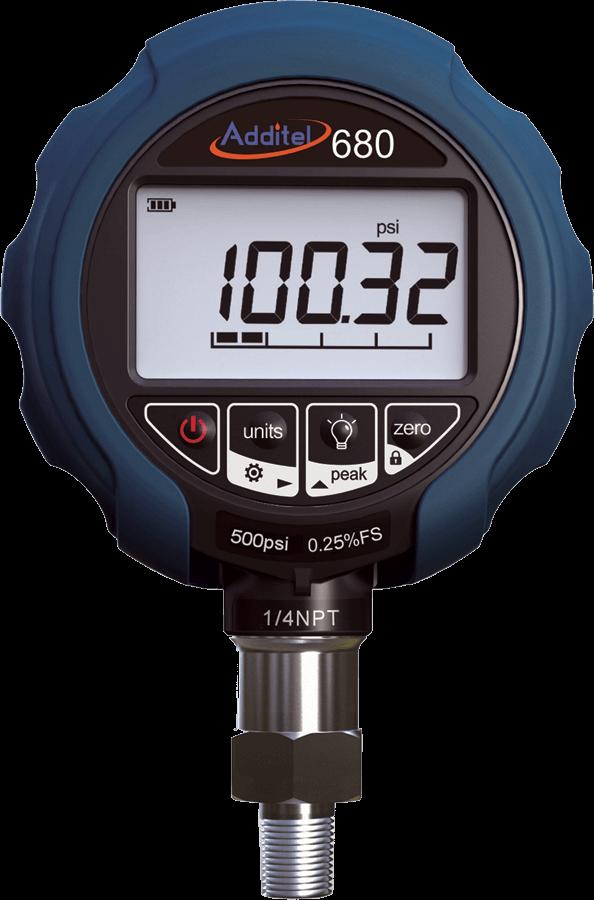 Цифровые манометры давления Additel 680, 680-W