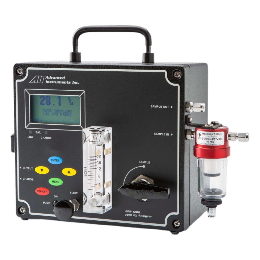 Портативные анализаторы кислорода GPR-1200, GPR-3500 Advanced Instruments Inc